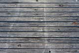 Jetty wood planks