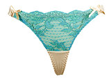 blue women's panties