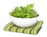 Fresh green salad in a bowl