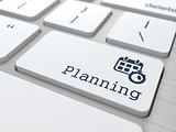 "Business Concept. Button ""Planning""."