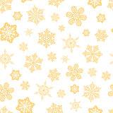Vector. Seamless snwoflakes background.
