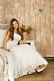 Bride on a Bed
