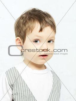 Beautiful Boy Portrait