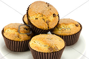 Ccoclate chip muffins