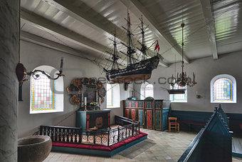 Church in Sonderho, Fano, Denmark