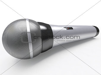 Audio microphone for singing