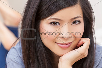 Beautiful Young Asian Chinese Woman