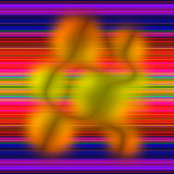 Aimless color abstract composition with a weak blurriness on mul