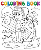 Coloring book summer activity 2
