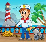 Image with sailor theme 2