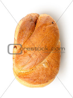 Baked white bread