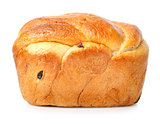 Bread with raisin