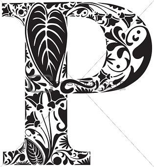 Floral P