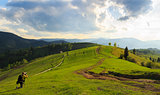 Landscape photography in Mizhhiria, Carpathians