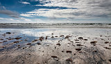 Wadden sea on Fano, Denmark