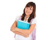 Asian university student