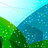 abstract background, vector style