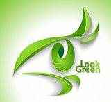 Look green
