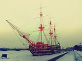 Ship in Saint Petersburg
