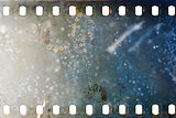Old grunge filmstrip