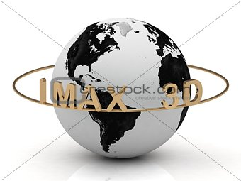 Gold IMAX 3D and gold ring
