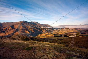 Crown Range Mountains