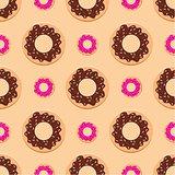 Seamless Donuts Pattern