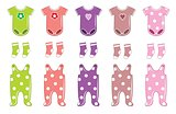 Set Of Clothes For A Baby