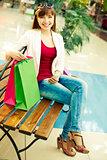 Rest between shopping