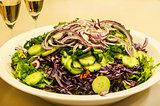 Mixed salad dish