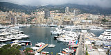 Panoramic view Monte Carlo Monaco
