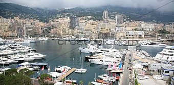 Panoramic view Monte Carlo Monaco