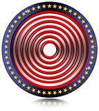 USA Target Metal Flag