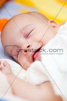 Sleeping Baby Smiling