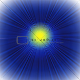 blue background with sun