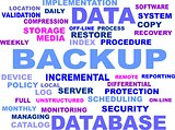 word cloud - backup
