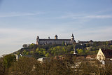 Marienberg Fortress in Wurzburg, Germany.