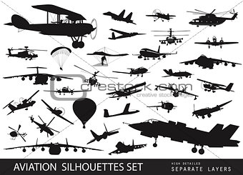 Aviation set
