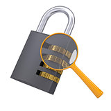 Analysis of security lock code