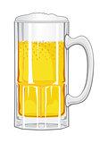 Beer Mug with Beer