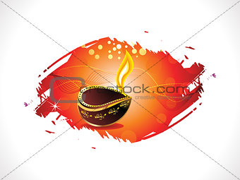 abstract diwali template