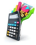 3d open calculator