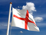 England flag (with clipping path)