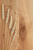 Wheat on Oak