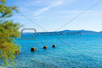 Coastline near Seget Vranjica, Croatia