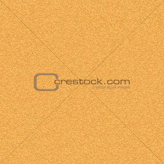 Yellow Striated Stucco Wall. Seamless Texture.