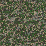 Detailed Camouflage Fabric. Seamless Texture.