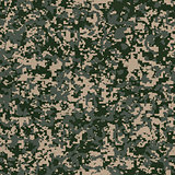 Military Fabric Pattern. Seamless Texture.