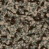 Digital Camouflage Pattern. Seamless Texture.