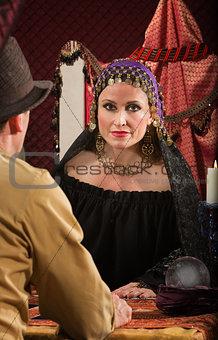 Romani Woman with Man